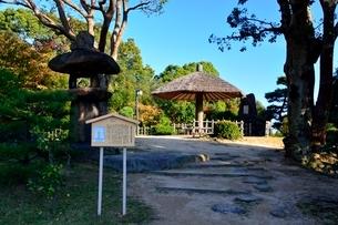 須磨離宮公園,月見の松跡の写真素材 [FYI01551076]