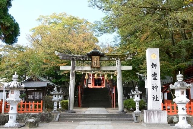福知山,御霊神社鳥居の写真素材 [FYI01551536]