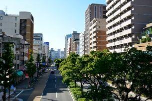 神戸三宮の街並みの写真素材 [FYI01551619]