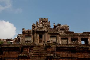 アンコール・トム ピラミッド型寺院ピミアナカスの写真素材 [FYI01556172]