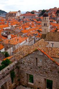 城塞から見た旧市街の写真素材 [FYI01556627]