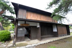 日本鋼管(株)の創立者の今泉嘉一郎生家の写真素材 [FYI01556837]