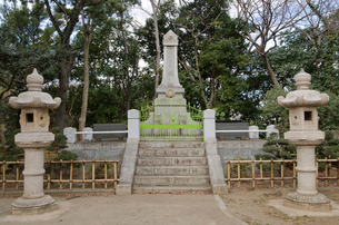 千葉県殉難警察官の碑の写真素材 [FYI01556978]