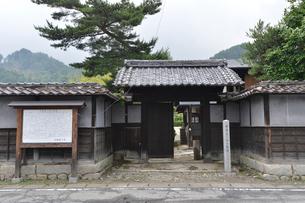 日本鋼管(株)の創立者の今泉嘉一郎生家の写真素材 [FYI01556983]