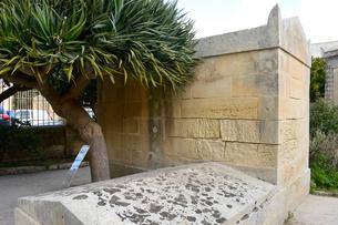 聖パウロ地下墓地の写真素材 [FYI01557269]