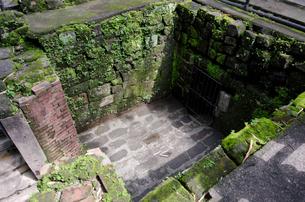 サンチャゴ要塞の牢屋の写真素材 [FYI01557320]