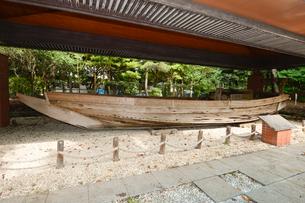 稲毛海浜公園 小型底曳船の写真素材 [FYI01557366]
