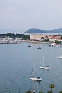 鐘楼から見たアドリア海沿岸の写真素材 [FYI01557367]