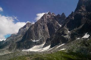 アルプスの山々の写真素材 [FYI01557687]