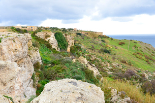 カリュプソの洞窟付近の風景の写真素材 [FYI01557851]