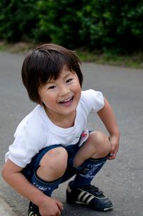 3歳男児の写真素材 [FYI01557876]