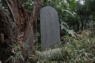 寒中水行十年修行記念碑の写真素材 [FYI01557965]