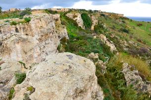 カリュプソの洞窟付近の風景の写真素材 [FYI01557976]