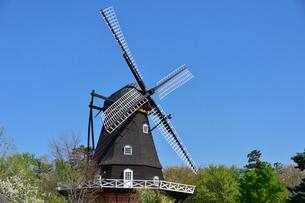 アンデルセン公園 風車の写真素材 [FYI01558048]