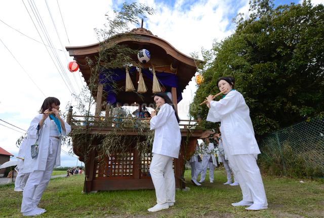 馬出し祭りの写真素材 [FYI01558107]
