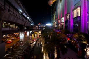 バンコク市街 サイアム駅前の写真素材 [FYI01558178]