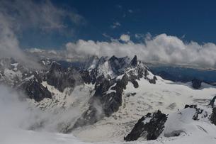 アルプスの山々の写真素材 [FYI01558626]