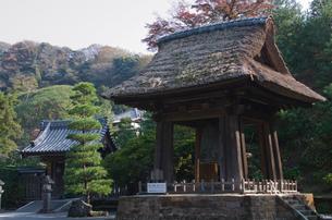 建長寺の梵鐘 国宝の写真素材 [FYI01558656]
