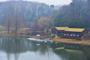 アンデルセン公園のボート乗り場の写真素材 [FYI01558657]