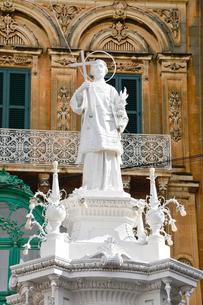 ヴィットリオーザの中央広場の写真素材 [FYI01558877]