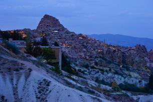 ウチヒサールの要塞の写真素材 [FYI01559419]