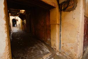 世界遺産フェズ旧市街の写真素材 [FYI01559844]