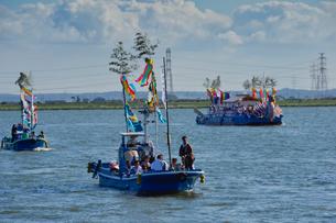 12年度に一度の式年大祭神宮御船祭の写真素材 [FYI01559999]