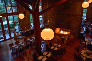 ホテル,ダルボデル・インカラグジュアリーコレクションの食堂の写真素材 [FYI01560511]