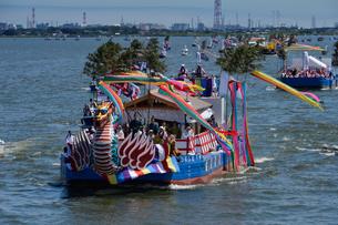12年度に一度の式年大祭神宮御船祭の写真素材 [FYI01560630]