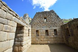 マチュピチュ遺跡の皇帝の部屋の写真素材 [FYI01560723]