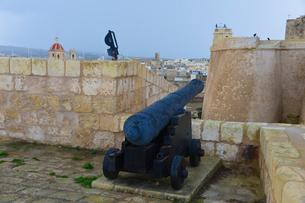 チタデル大城塞にある大砲の写真素材 [FYI01560781]