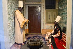 トプカプ宮殿のハレムにある人形の写真素材 [FYI01560812]