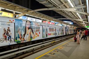 バンコク市街 アソーク駅の写真素材 [FYI01560912]
