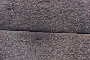 コリカンチャ(サント・ドミンゴ教会)精巧な石組みで出来た内部の写真素材 [FYI01560949]