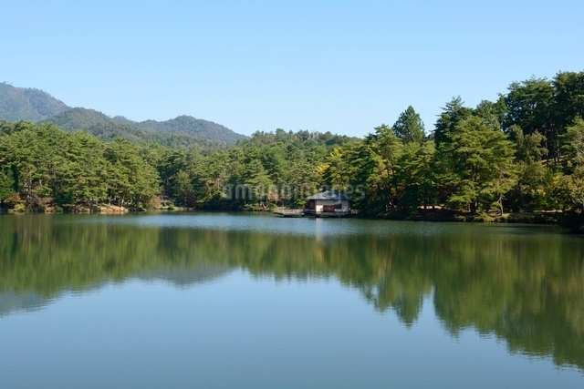 福知山,三段池公園の写真素材 [FYI01560980]
