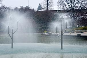 アンデルセン公園の噴水の写真素材 [FYI01561169]