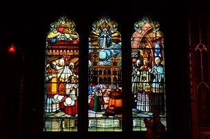 モントリオール ノートルダム大聖堂内部の写真素材 [FYI01561291]