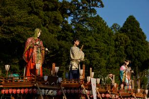 鹿島神宮の式念大祭の山車の写真素材 [FYI01561303]