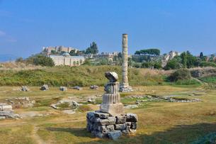 エフェソス遺跡群の写真素材 [FYI01561347]
