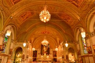 ノートルダム.ド.ボン.スクール教会内部の写真素材 [FYI01561349]