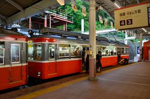 箱根湯本駅 (箱根登山鉄道)の写真素材 [FYI01561457]