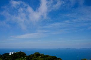 地獄のぞきから見た東京湾浦賀水道の写真素材 [FYI01561598]
