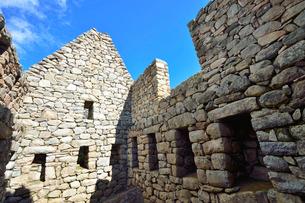 マチュピチュ遺跡の居住区の写真素材 [FYI01561640]