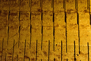 大谷資料館の機械堀り跡の写真素材 [FYI01561748]