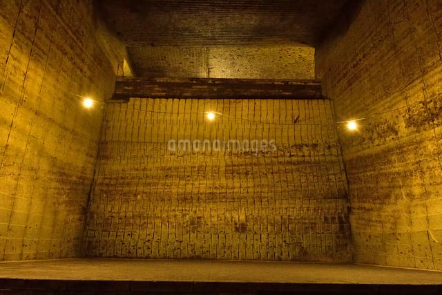 大谷資料館の機械堀り跡の写真素材 [FYI01561808]