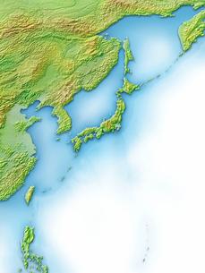 日本列島周辺地図のイラスト素材 [FYI01561812]