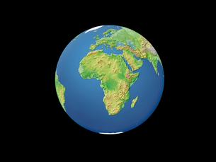 地球  アフリカのイラスト素材 [FYI01561997]