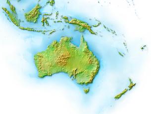 オーストラリア大陸のイラスト素材 [FYI01562031]