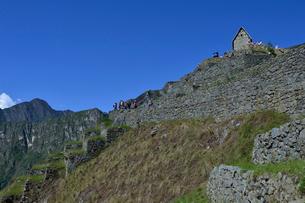 マチュピチュ遺跡の見張り小屋(上部)の写真素材 [FYI01562073]