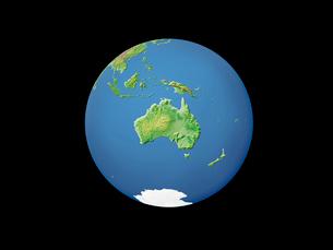 地球  オーストラリアのイラスト素材 [FYI01562074]